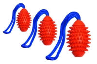 Boomer Vollgummi Aqua Football 9 cm, schwimmend Boomer, orange