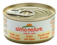 Almo Nature Adult Cats Huhn m. Käse 70 g