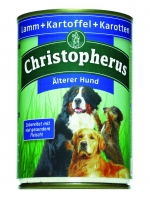 Christopherus Älterer Hund - Lamm, Kartoffel, Karotten