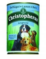 Christopherus Junghund Geflügel + Lamm + Reis 400g