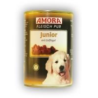 Amora Fleisch pur Junior mit Geflügel 425 ml