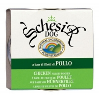 Schesir Jelly Hühnerfilet Dog 170 g