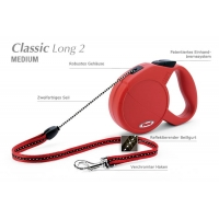 Flexi Classic Long 1 7 m, bis 12 kg rot