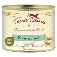 Terra Canis Kaninchen (Zucchini, Amaranth, Bärlauch) 400 g