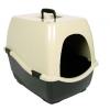 Trixie Katzentoilette Bill 1 S mit Haube, 40 × 42 × 50 cm, schwarz/creme