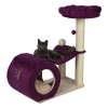 Trixie My Kitty Darling Kratzbaum, 90 cm, creme/violett