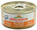 Almo Nature Adult Cats Huhn m. Thunfisch 70 g