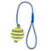Trixie Spielzeug mit phosphoreszierendem Seil, Naturgummi